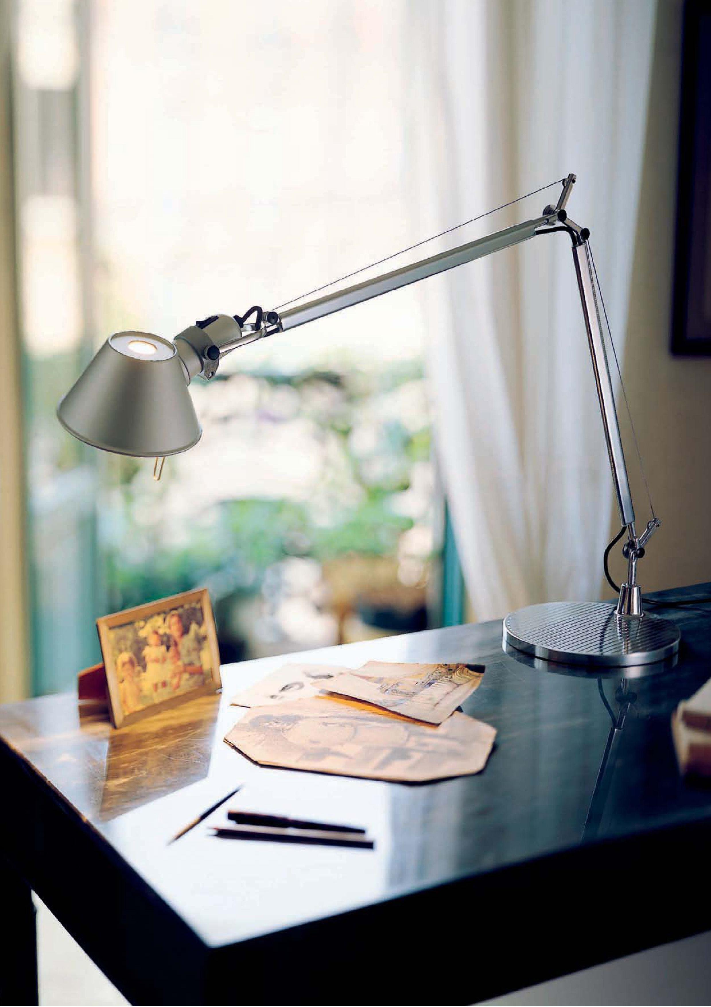 Tolomeo mini led lampada da tavolo alluminio by artemide made in design - Lampada da tavolo tolomeo ...