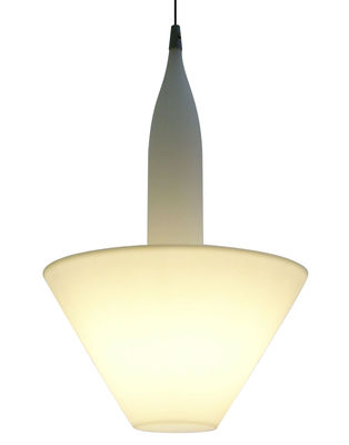 Lighting - Pendant Lighting - Bonheur Pendant by Serralunga - White - Polythene