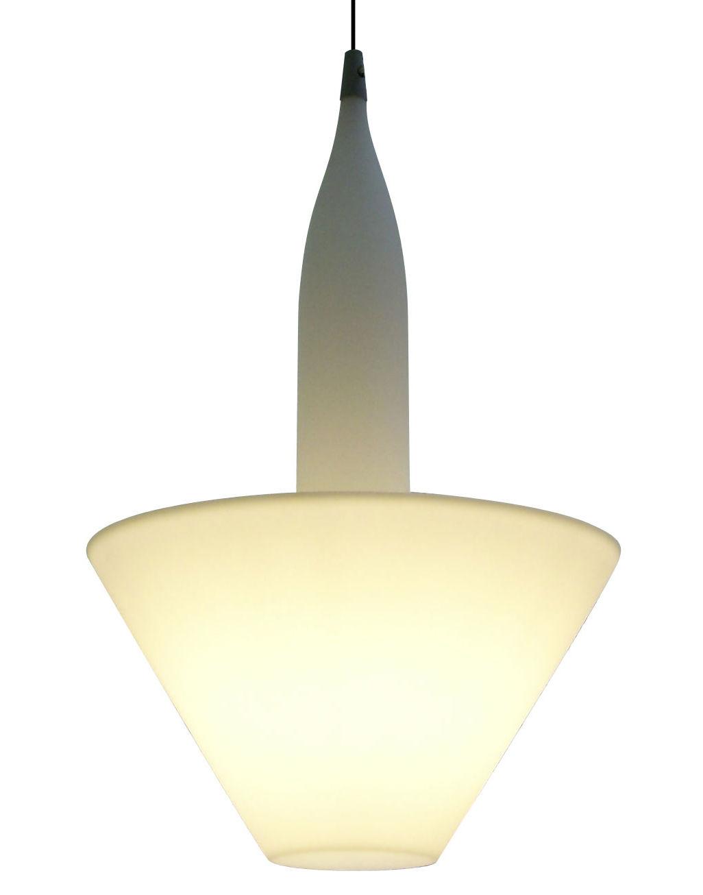 Lighting - Pendant Lighting - Bonheur Pendant by Serralunga - White - Polythene