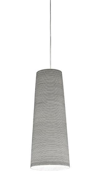 Lighting - Pendant Lighting - Tite Pendant by Foscarini - Black (carbone) - H 55 - Carbon, Fibreglass
