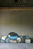 Piano/vassoio Slate Wabi Sabi - / Ø 61 cm - Legno & vetro dipinto a mano di Ethnicraft