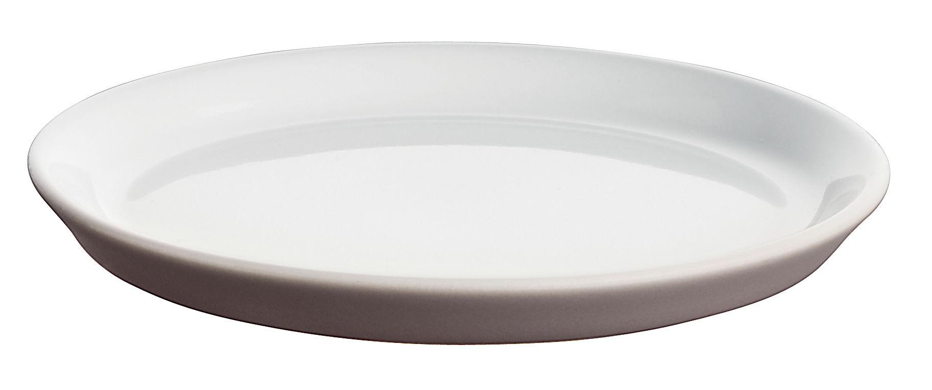 Tavola - Tazze e Boccali - Piattino sottotazza - Per bicchierino da caffé Tonale di Alessi - Talpa / interno bianco - Ceramica stoneware