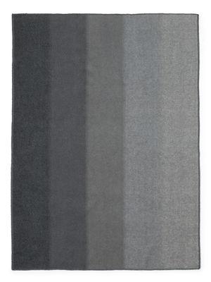 Image of Plaid Tint Throw - / Lana - 180 x 130 cm di Normann Copenhagen - Grigio chiaro,Grigio scuro - Tessuto