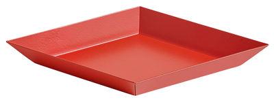 Plateau Kaleido XS / 19 x 11 cm - Hay rouge en métal