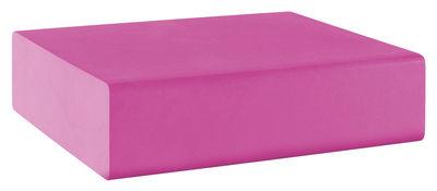 Pouf Matrass Mat 75 - Quinze & Milan rose en matière plastique