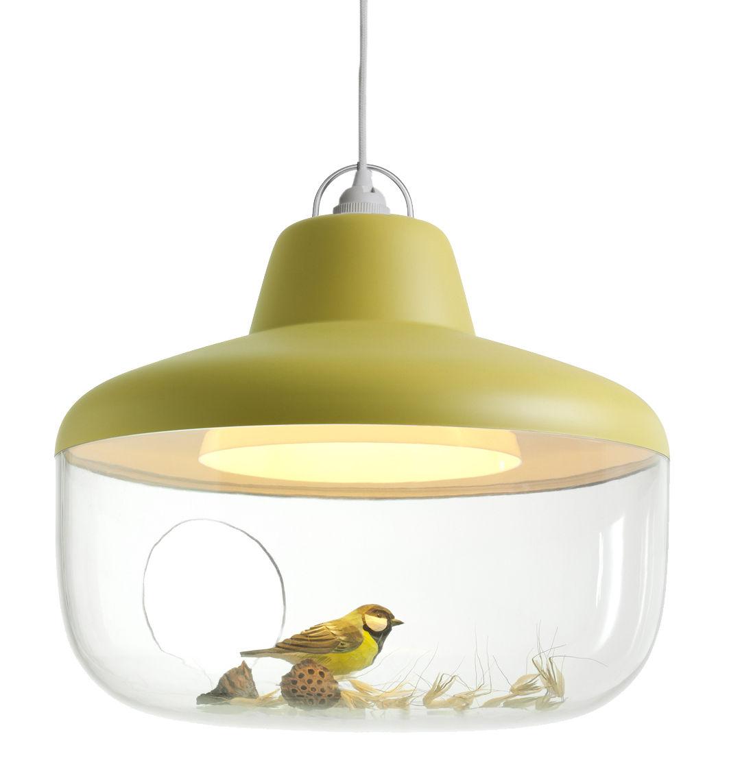 Illuminazione - Lampadari - Sospensione Favourite things - / Vetrina di ENOstudio - Senape - policarbonato, Polipropilene