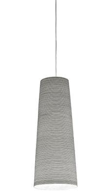 Illuminazione - Lampadari - Sospensione Tite di Foscarini - Nero (carbone) - H 55 - Carbonio, Fibra di vetro