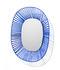 Specchio Cesta - Ovale / 47 x 54 cm di ames