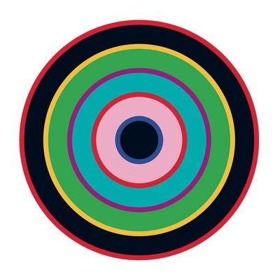 Sticker Target 1 - Domestic bleu/vert/noir en matière plastique/papier