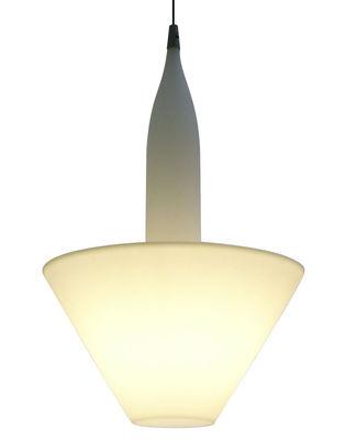 Luminaire - Suspensions - Suspension Bonheur - Serralunga - Blanc - Polyéthylène