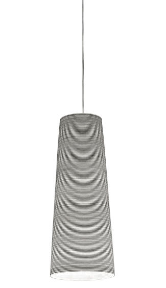 Luminaire - Suspensions - Suspension Tite - Foscarini - Noir - Carbone, Fibre de verre