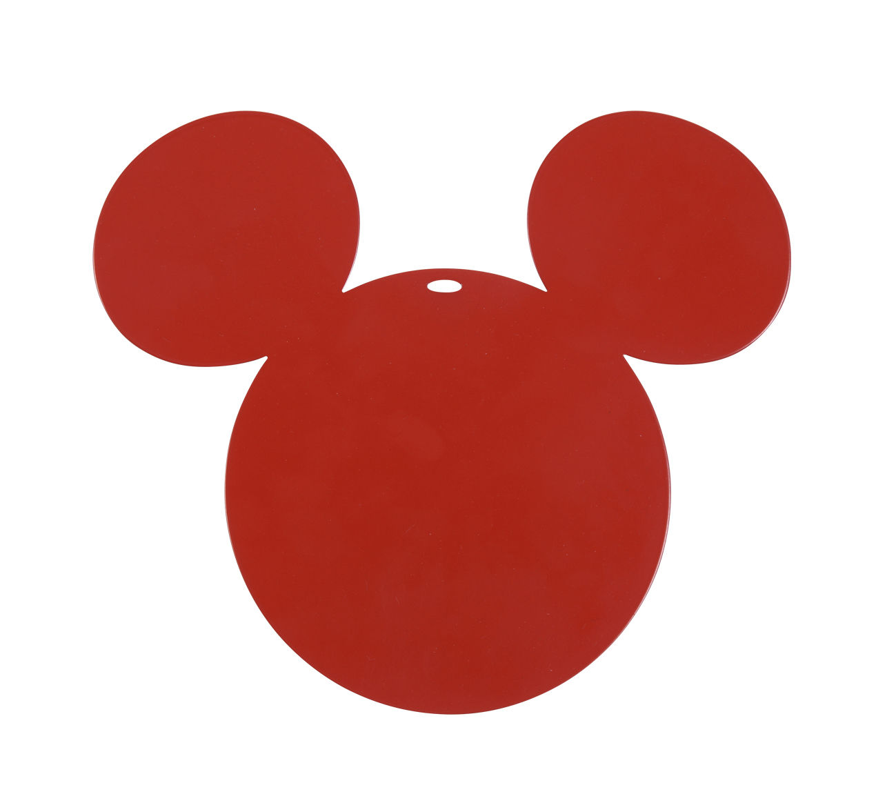 Tableware - Table Mats & Trivets - Mickey Tablemat - / Metal by Fermob - Poppy red - Electro-galvanized steel