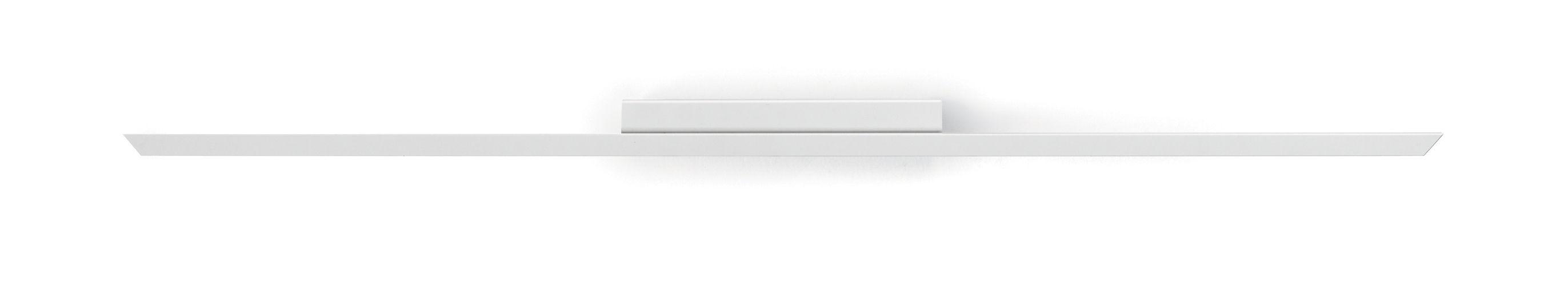 Lighting - Ceiling Lights - Lineal LED Wall light - / L 86 cm by Carpyen - L 86 cm / White - Lacquered aluminium