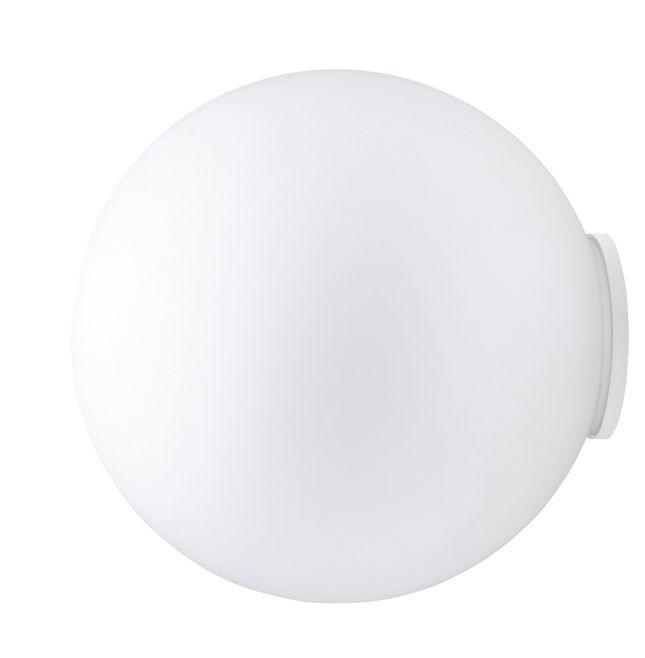 Lighting - Wall Lights - Sfera Wall light - Ø 14 cm by Fabbian - White - Ø 14 cm - Glass