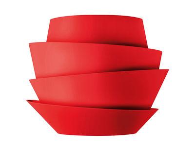 Applique Le Soleil - Foscarini rouge en matière plastique
