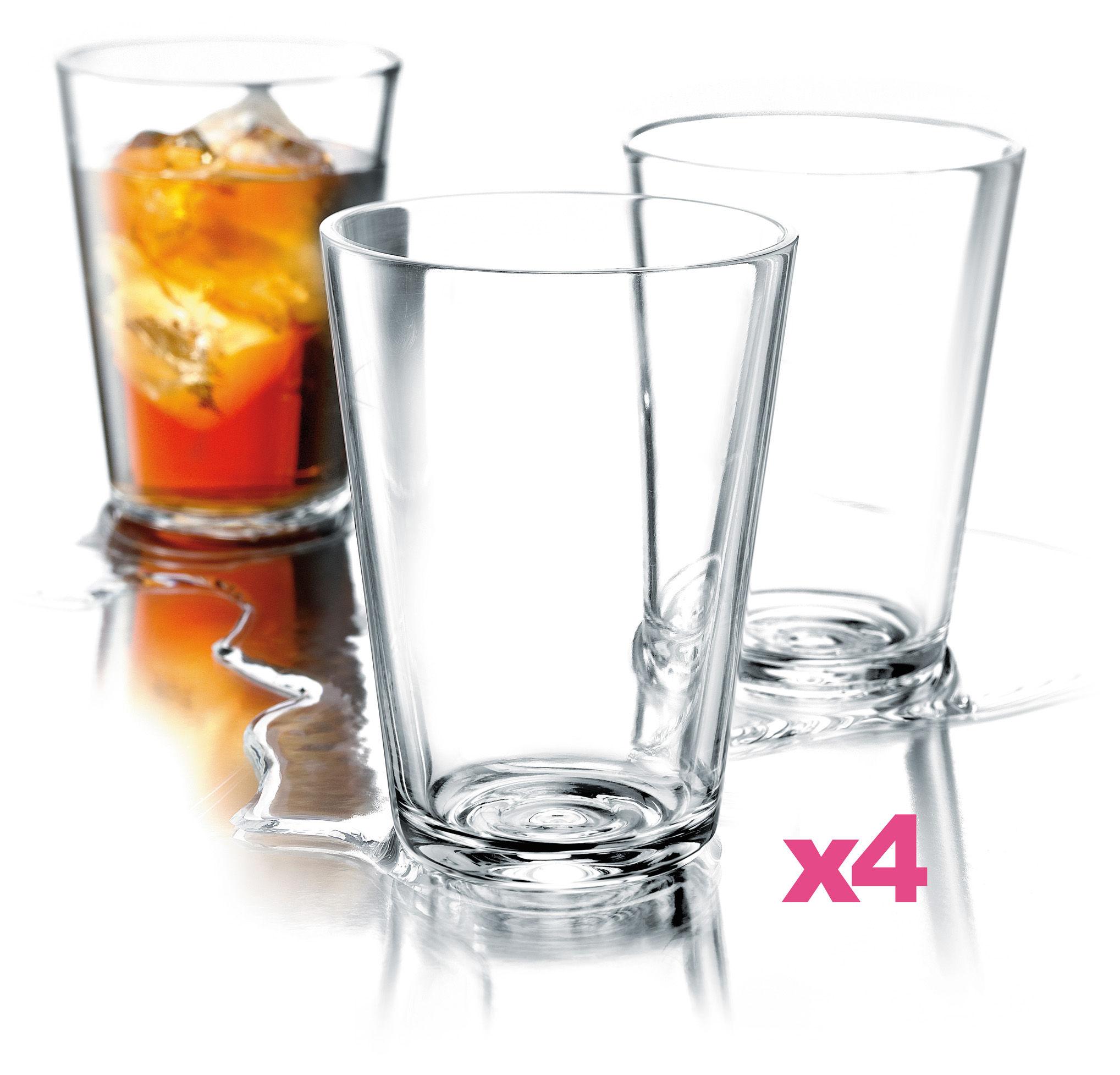 Tavola - Bicchieri  - Bicchiere - lotto da 4 - 38 cl di Eva Solo - Trasparente - Vetro