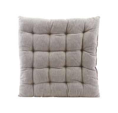 Cuscino per seduta Field - / per poltrona Brea di House Doctor - Grigio - Tessuto