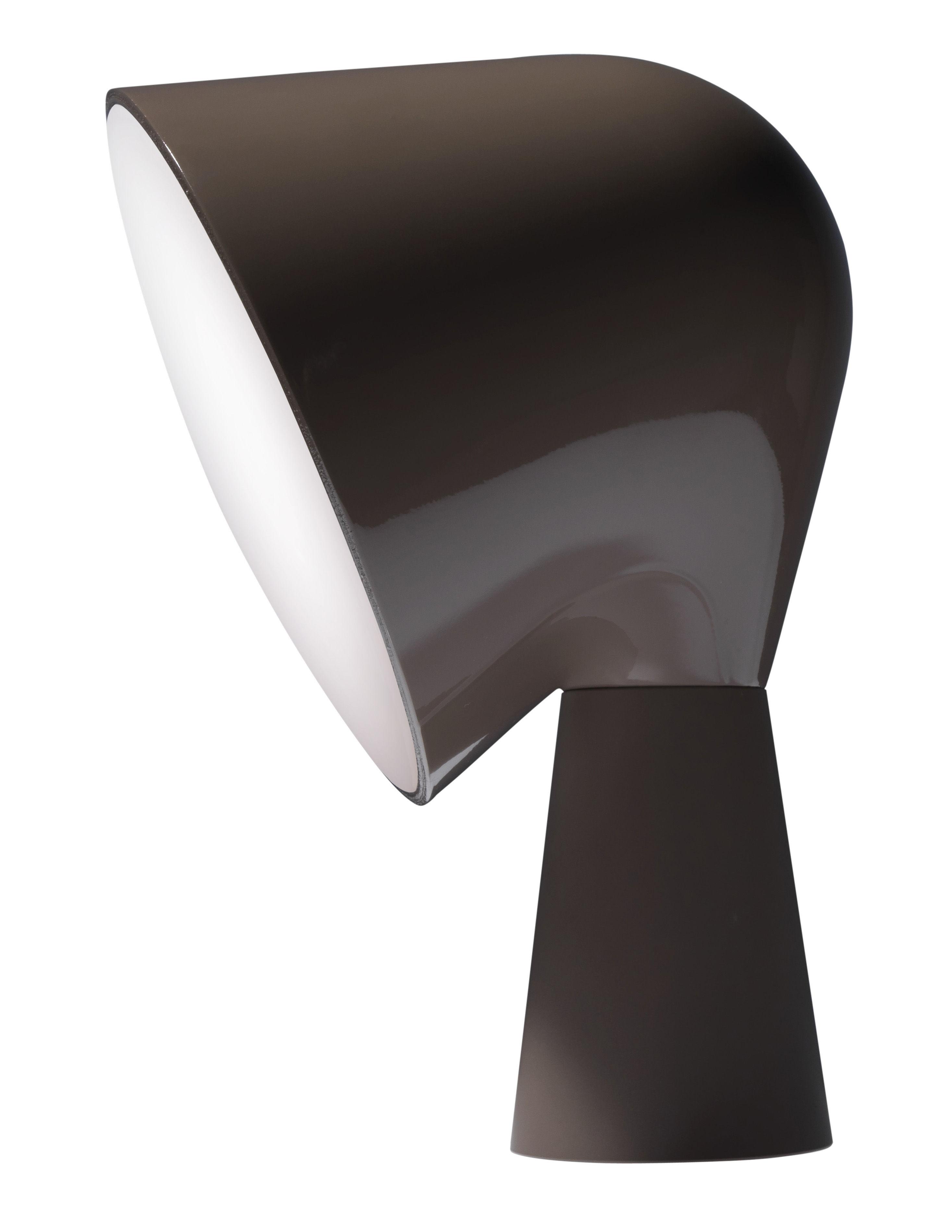 Luminaire - Lampes de table - Lampe de table Binic - Foscarini - Gris - ABS, Polycarbonate