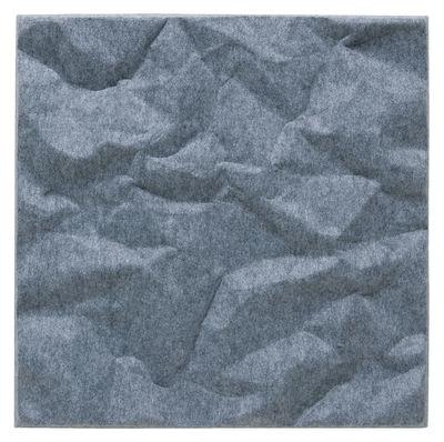 Image of Pannello acustico a muro Soundwave Scrunch di Offecct - Grigio - Materiale plastico