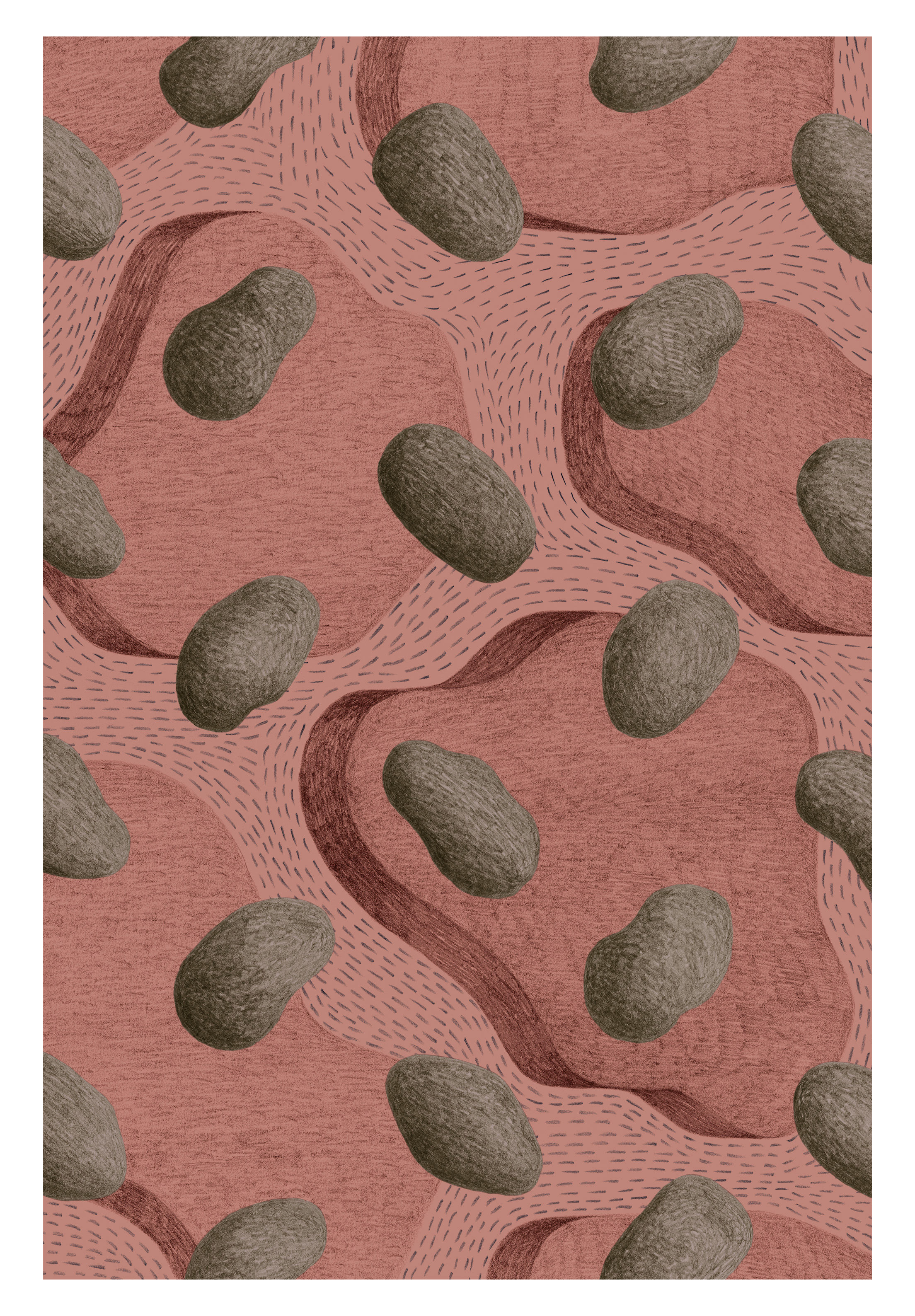 Decoration - Rugs - Archipel Rug - / 200 x 300 cm - 20 years of MID limited edition by Made in design Editions - Archipel - Polyamide