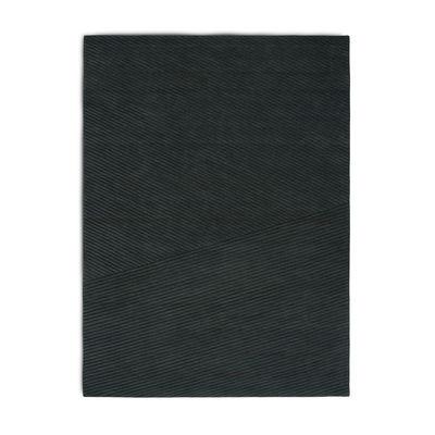 Decoration - Rugs - Row Rug - / 170 x 240 cm by Northern  - Dark green - New-zealand wool