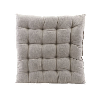 Decoration - Cushions & Poufs - Field Seat cushion - / for Brea armchair by House Doctor - Grey - Cotton
