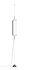 Sospensione Guise - / Diffusore verticale - LED di Vibia