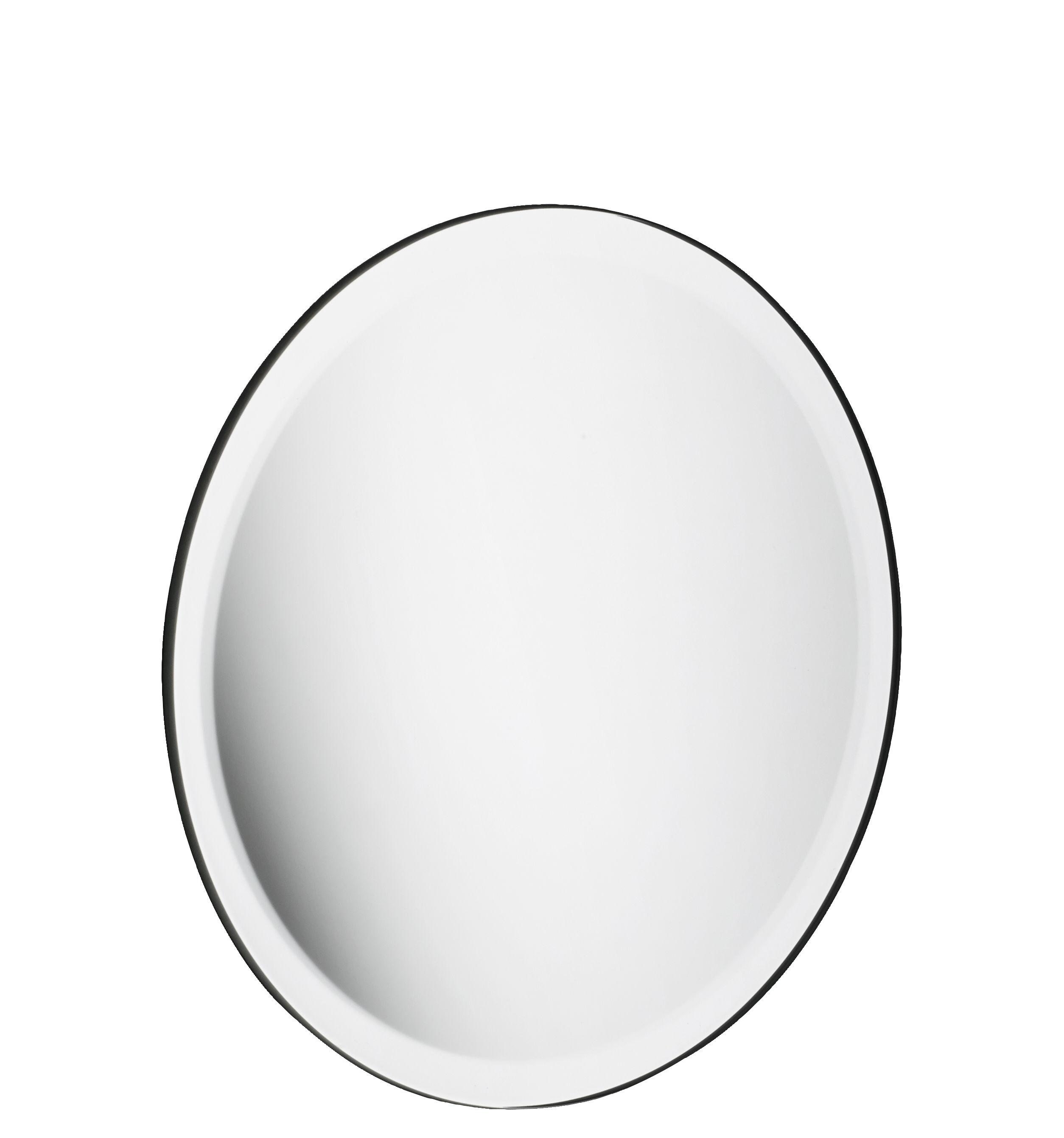 Interni - Contenitori e Cesti - Specchio Small / Ø 18.5 cm - Per pannello Pinorama - Hay - Specchio - Vetro