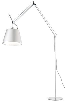 Tolomeo Mega Stehleuchte / H 148 bis 327 cm - Artemide - Weiß