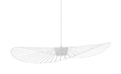 Suspension Vertigo Small / Ø 140 cm - Petite Friture blanc en matière plastique