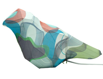 Lighting - Table Lamps - I love animals : Cillioptical Table lamp - LED in fabric by Alessi - Cillioptical design - Fabric, Varnished steel