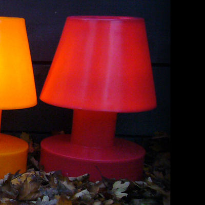 Lighting - Table Lamps - Table lamp - Portable - H 56 cm by Bloom! - Red - Polythene