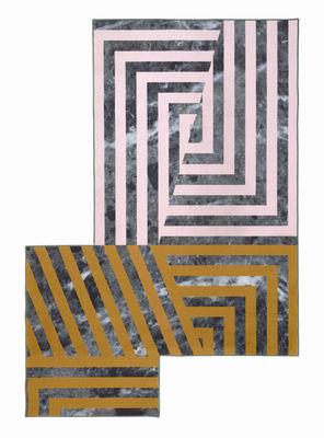 Déco - Tapis - Tapis Kartell Carpet / 300 x 200 cm - Kartell - Multicolore / Rayures - Polypropylène