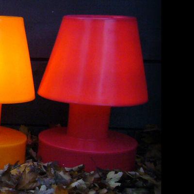 Tischleuchte tragbar - H 56 cm - Bloom! - Rot