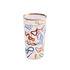 Verre Toiletpaper - Snakes / H 13 cm - Seletti