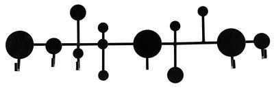 Arredamento - Appendiabiti  - Appendiabiti Circles - / Metallo - L 65 cm di House Doctor - Nero - Ferro