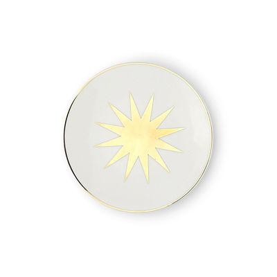 Arts de la table - Assiettes - Assiette à mignardises Saetta / Ø 12 cm - Bitossi Home - Etoile - Porcelaine