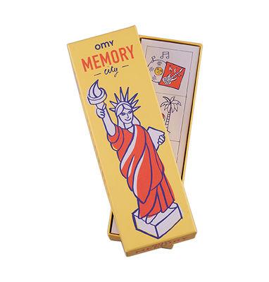Boîte de jeu Memory / 56 cartes - OMY Design & Play multicolore en papier