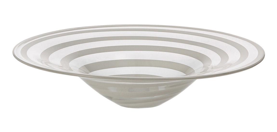Tableware - Bowls - Twist Bowl - Ø 36 cm by Leonardo - Ø 36 cm - White - Glass