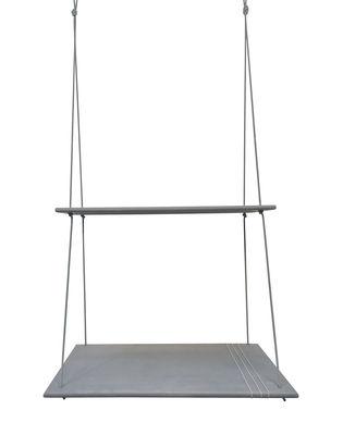 Bureau Hang Desk / à suspendre - L 90 x P 55 cm - Trimm Copenhagen gris en bois