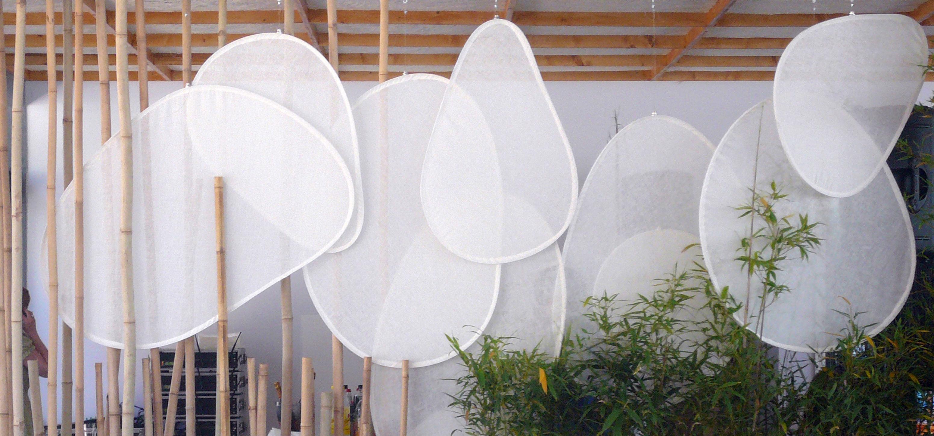 Cloison Mobileshadows - Nimbo opaque (lin double) - Ø 52 cm - Smarin