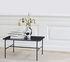 Rebar Coffee table - / Marbre - L 80 x H 40,5 cm by Hay