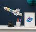 Coloriage 3D à gonfler Rocket / Fusée en papier - OMY Design & Play