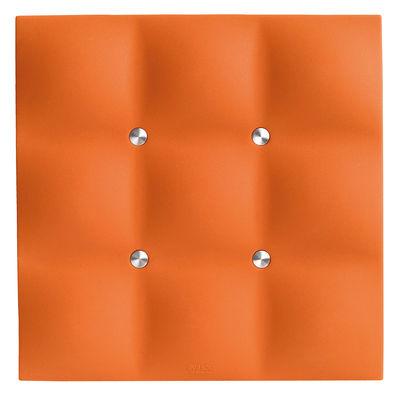 Arts de la table - Dessous de plat - Dessous de plat silicone - Eva Solo - Orange - Acier inoxydable, Silicone