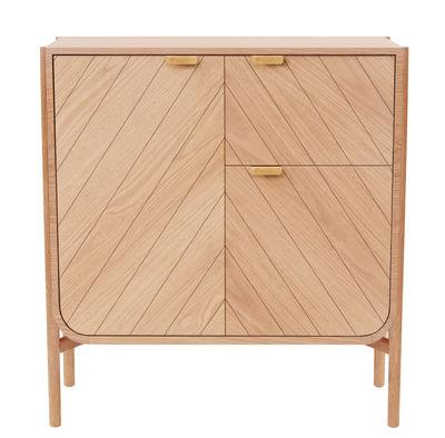 Furniture - Shelves & Storage Furniture - Marius Dresser - L 120 x H 130 cm by Hartô - Natural oak - MDF veneer oak, Solid oak