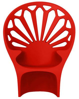 Mobilier - Chaises, fauteuils de salle à manger - Fauteuil Altesse - Qui est Paul ? - Rouge - Polyéthylène