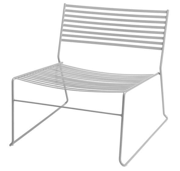 Mobilier - Fauteuils - Fauteuil bas Aero - Emu - Aluminium - Acier laqué