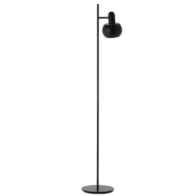 Illuminazione - Lampade da terra - Lampada a stelo BF20 Single - / 1 paralume orientabile di Frandsen - Nero opaco - Acrilico, Metallo