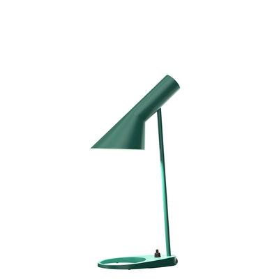 Lampe de table AJ Mini (1960) / H 43 cm - Louis Poulsen vert foncé en métal