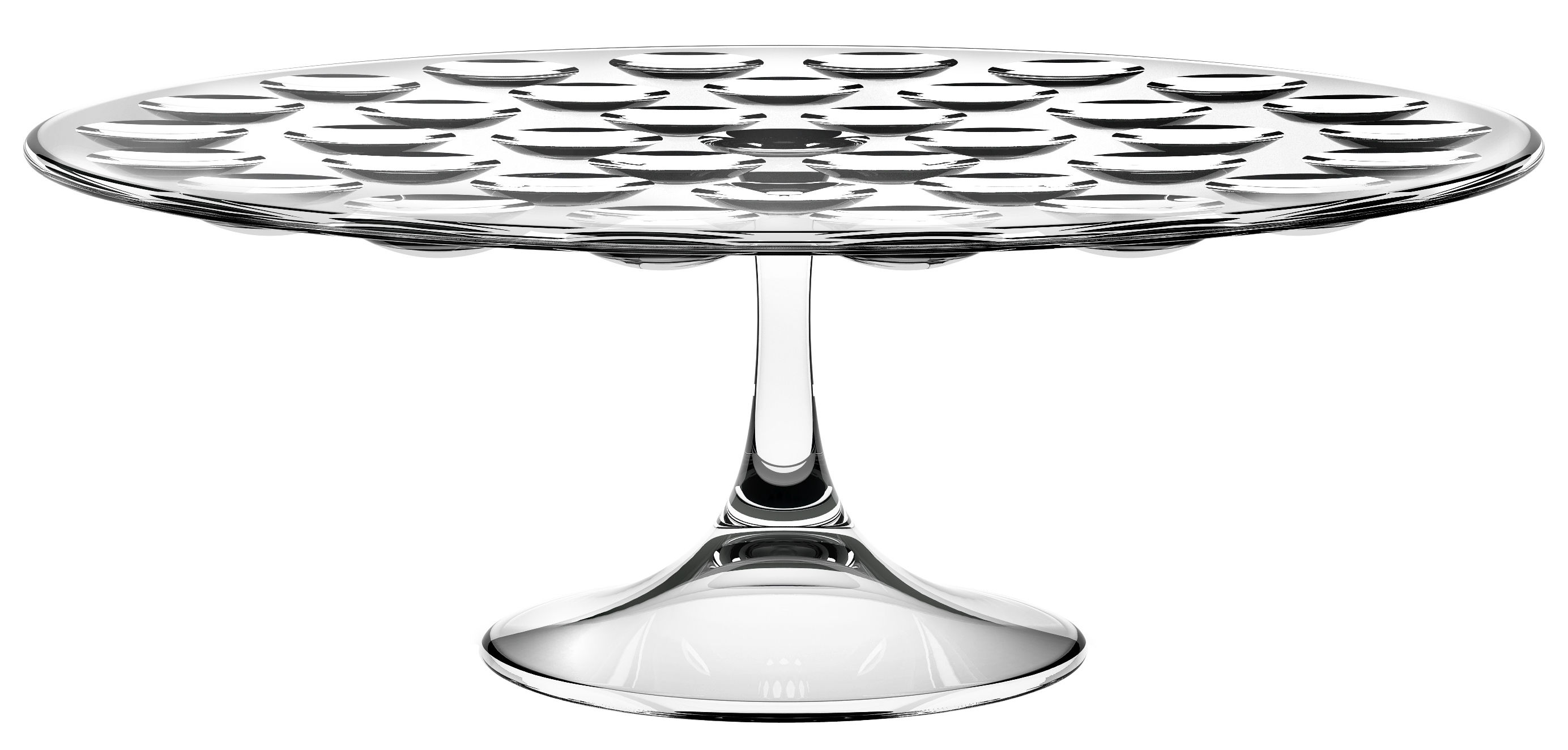 Tableware - Serving Plates - Bolle Presentation dish by Italesse - Transparent - Glass